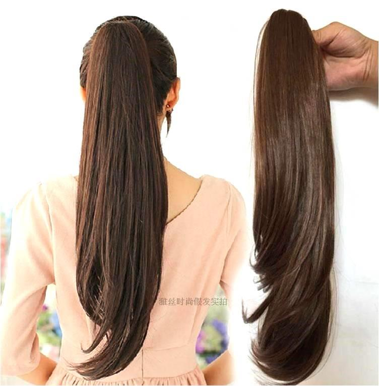 pony tail 60 cm z28/ready stock/ rambut palsu/ Clip