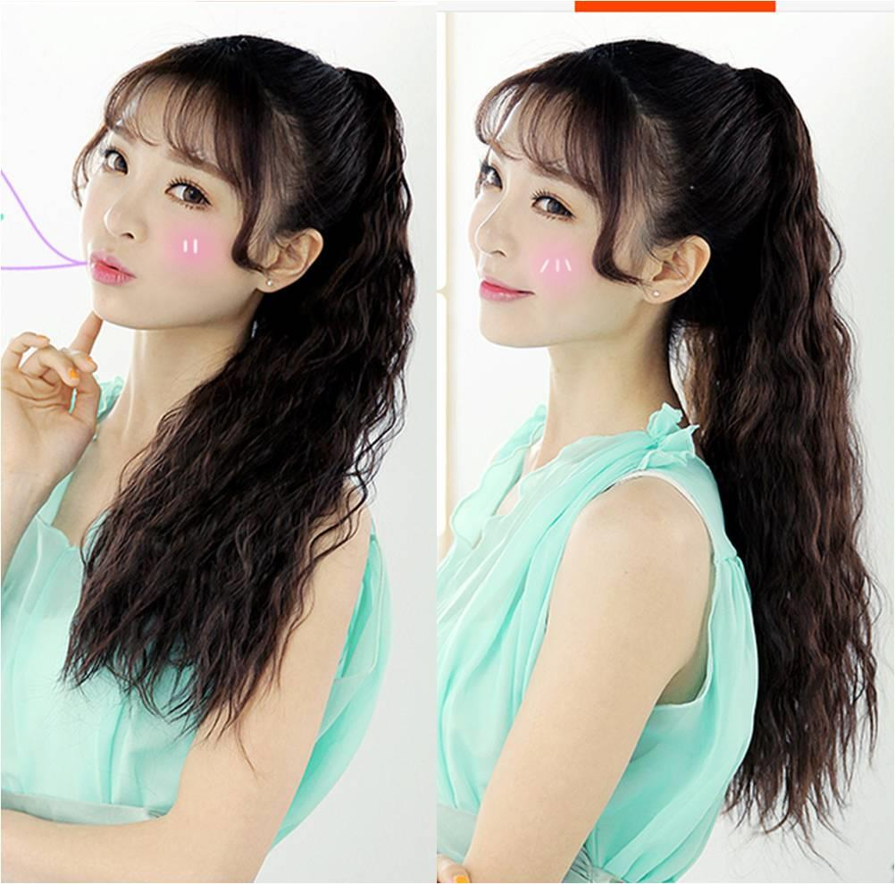 pony tail corn perm 60cm z7a/ready stock/ rambut palsu
