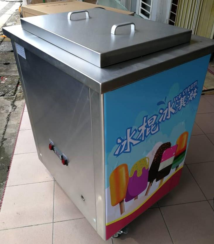 Popsicle stick ice cream machine