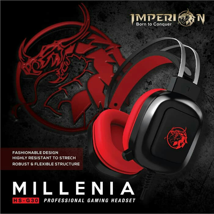 POPULAR Imperion Millenia HS-G30 Professional Gaming Headset