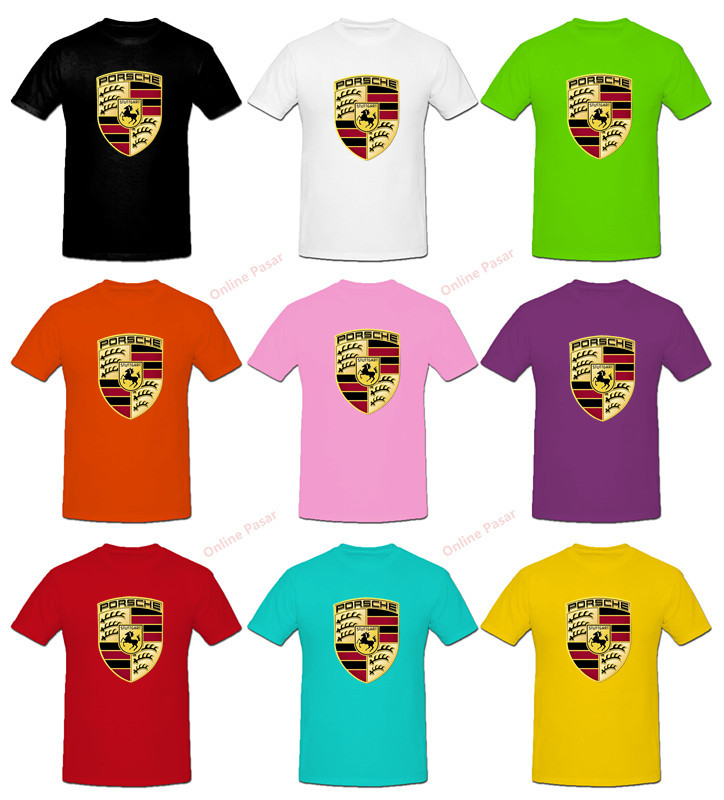 Porsche 2 T-Shirt with 9 Colour Choices