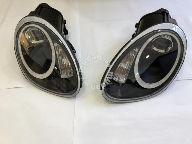 Porsche 987 Cayman 04-08 Projector Head Lamp Led Taiwan