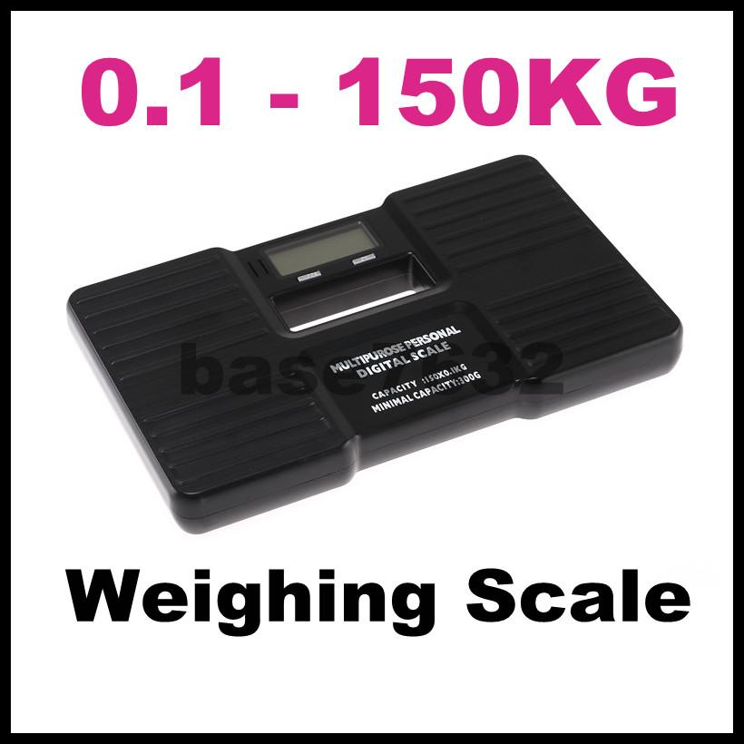 Portable 150kg Personal Digital Body Fat Weighing Scale Weight Machine