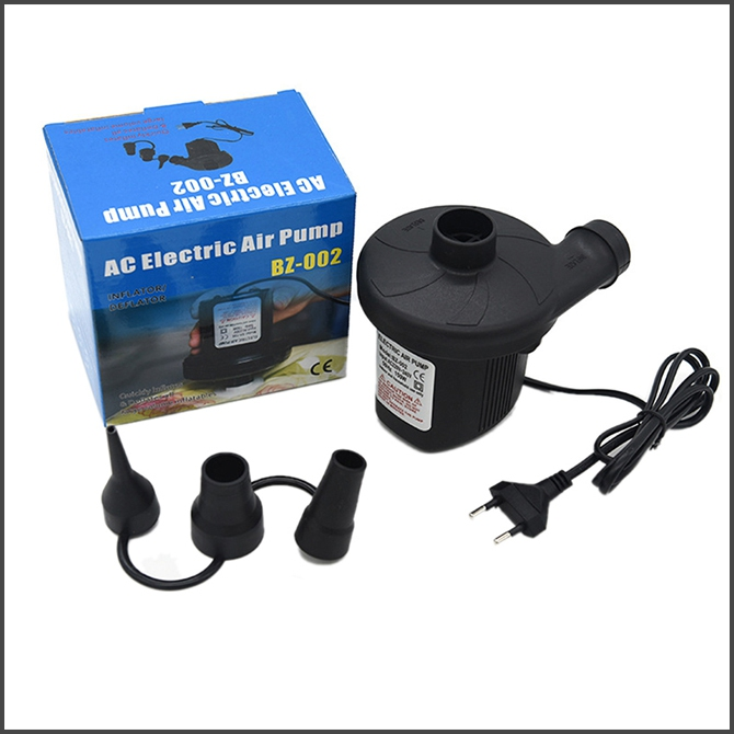 Portable 220V AC Electric Air Pump For Inflatable Air Bed Sofa Swimming Pool