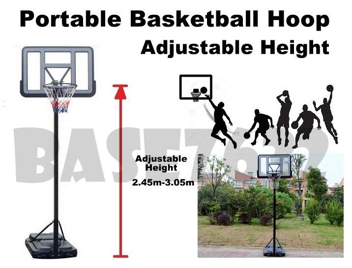 Portable  Adjustable Height Basketball Hoop 3 on 3 Tournament Stand
