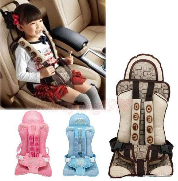 Portable Baby Child Children Car Belt Safety Seat Cushion Safe