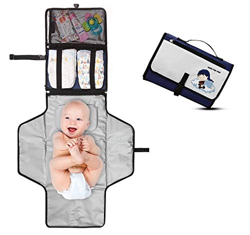 ~ Portable Changing Pad - Premium Quality Travel Station - Diaper Baby Clutch