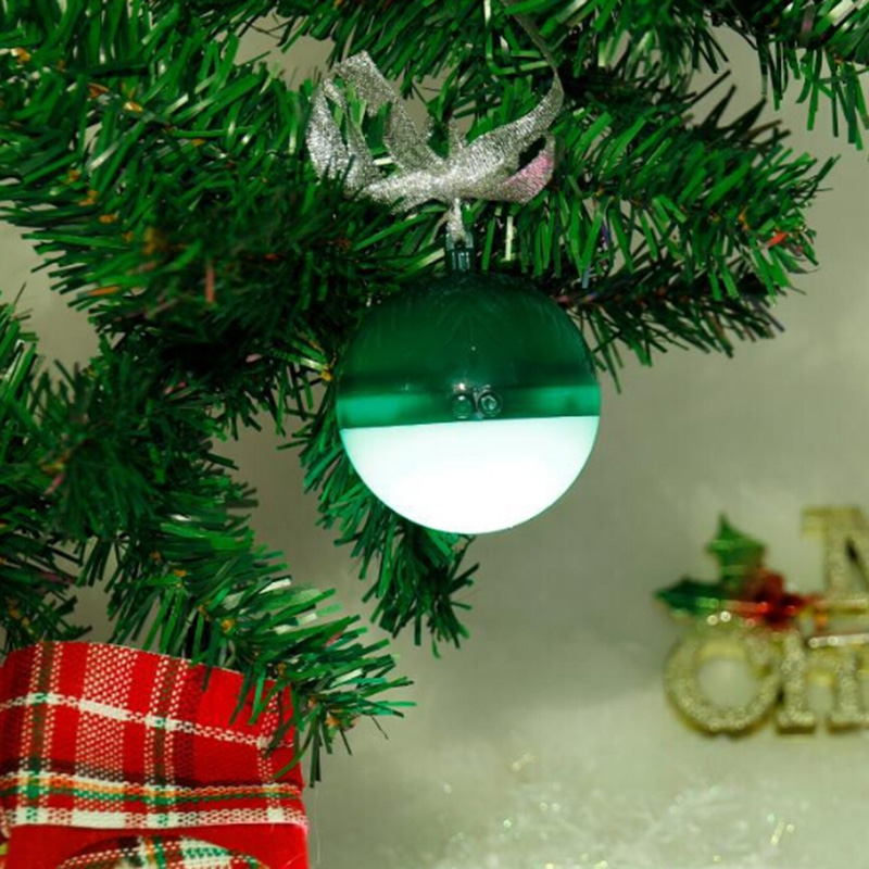 PORTABLE COLORFUL LED CHRISTMAS BALL BLUETOOTH SPEAKER
