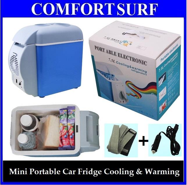 Portable Electronic 6l 7 5l Car Fridge Refrigerator Cooling Warming