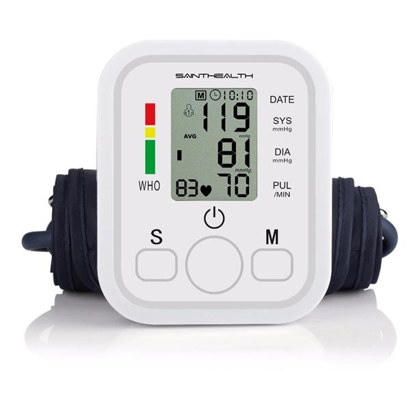 Portable Family Home Digital Arm Blood Pressure Monitor