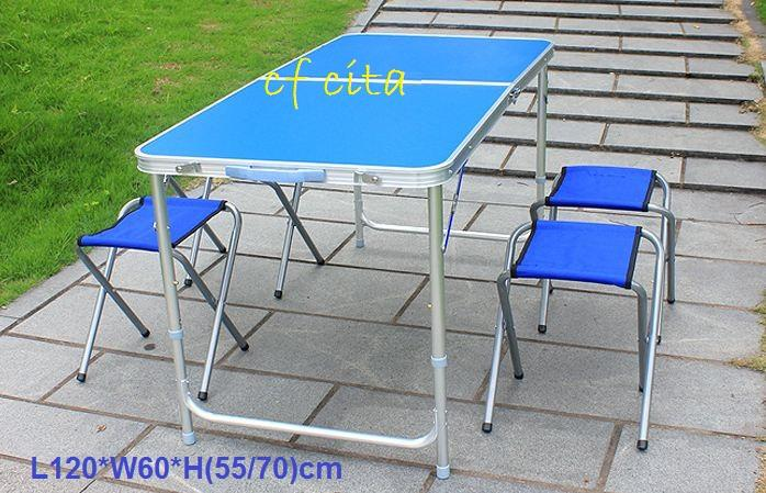 Portable Foldable Aluminium Table Camping Outdoor Table