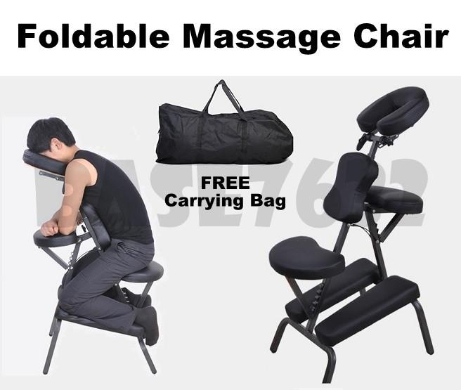 Portable  Foldable Massage Tattoo Chair for Spa FREE Carry Case