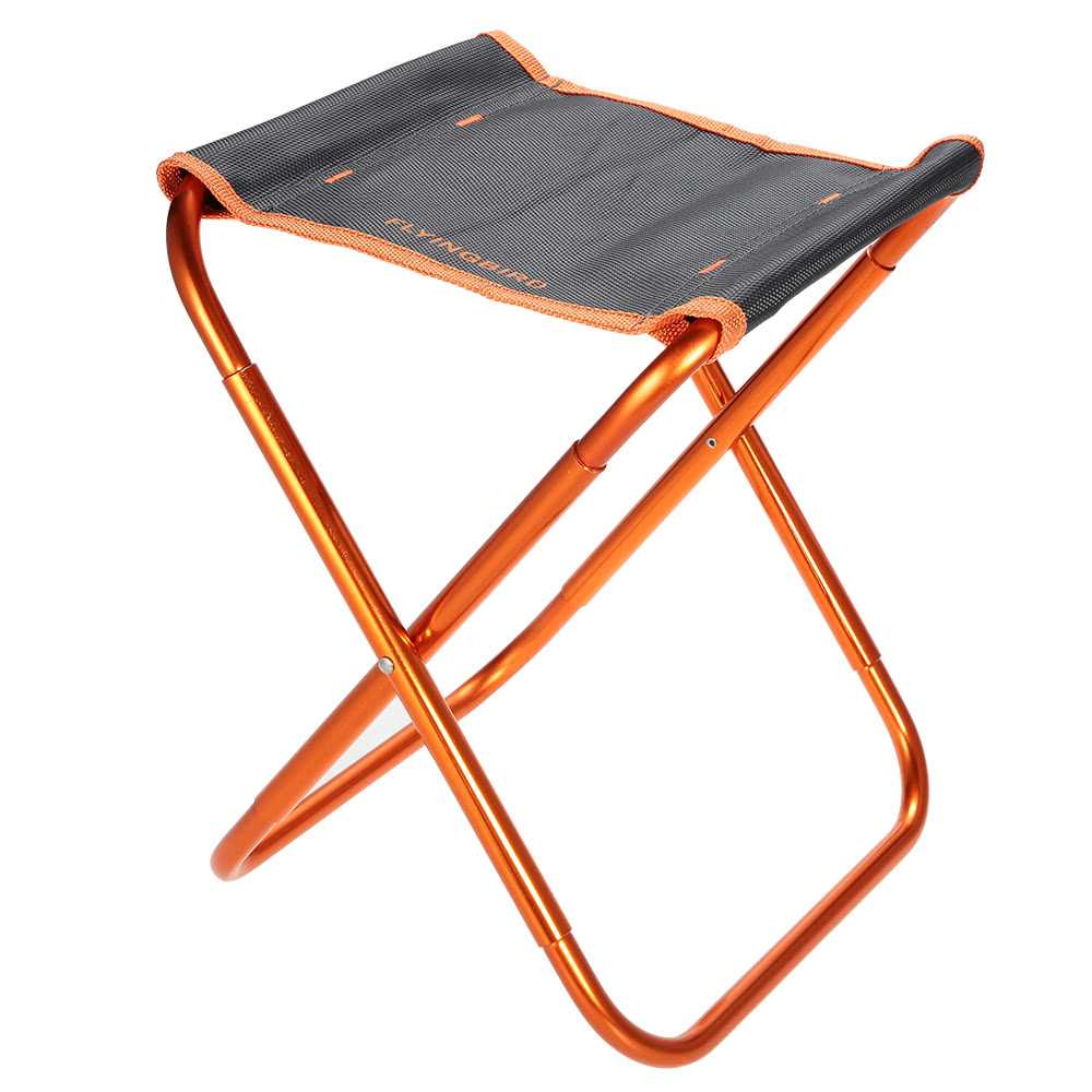 Portable Folding Chair Outdoor Lightweight Foldable Chair Stool for Camping Fi
