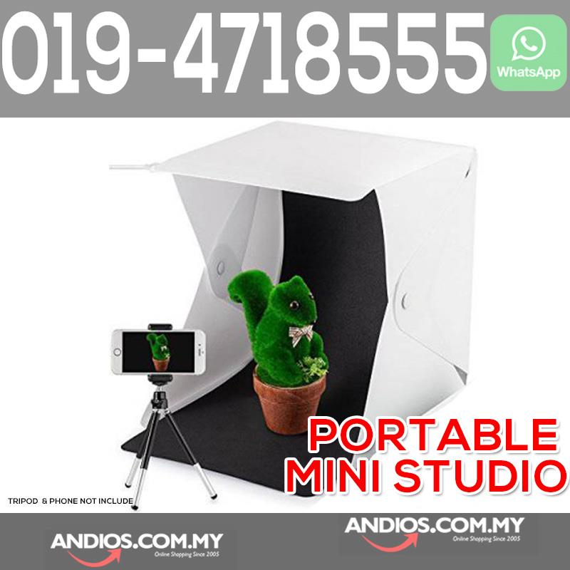 Portable Folding Photography Photo Studio Light Box Mini Cube LED