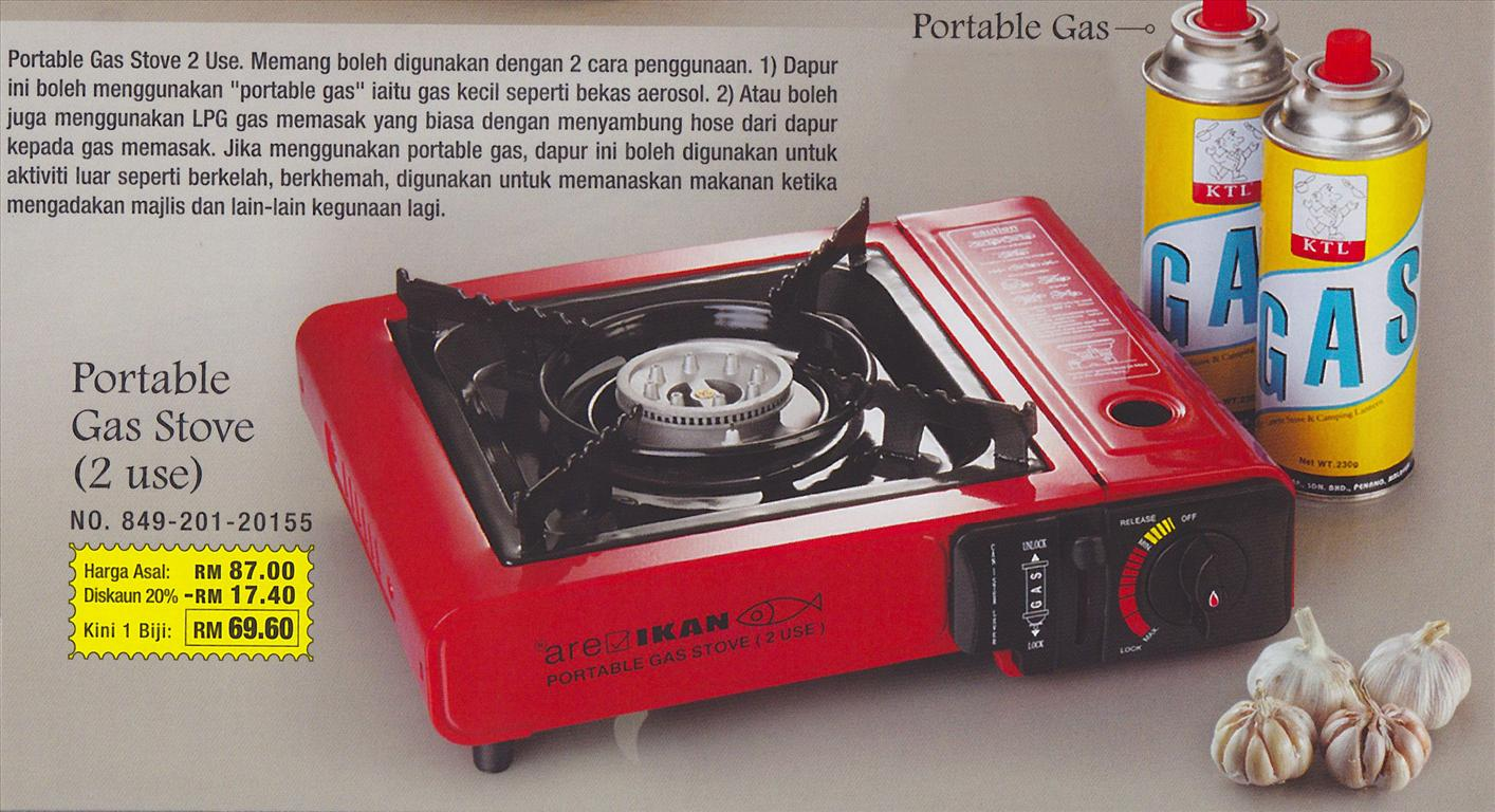 Portable Gas Stove 2 Use