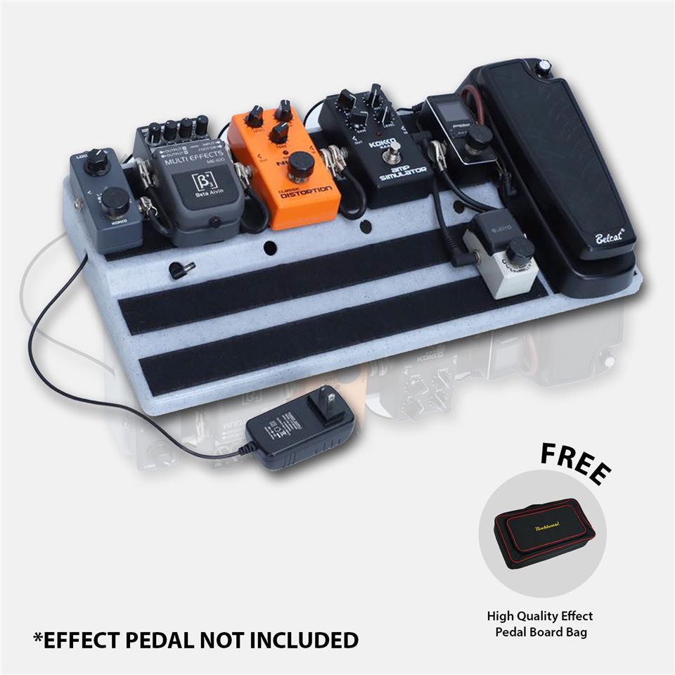 Portable Guitar Effect Pedal Board + High Quality Bag