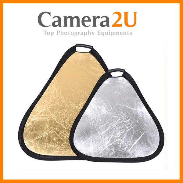 New Portable Hand Held Flash Light Reflector 60cm for Portraits