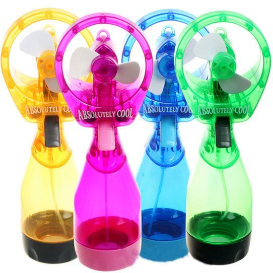 Portable Handheld Water Misting Spray Fan Cooling Fan Battery Operated