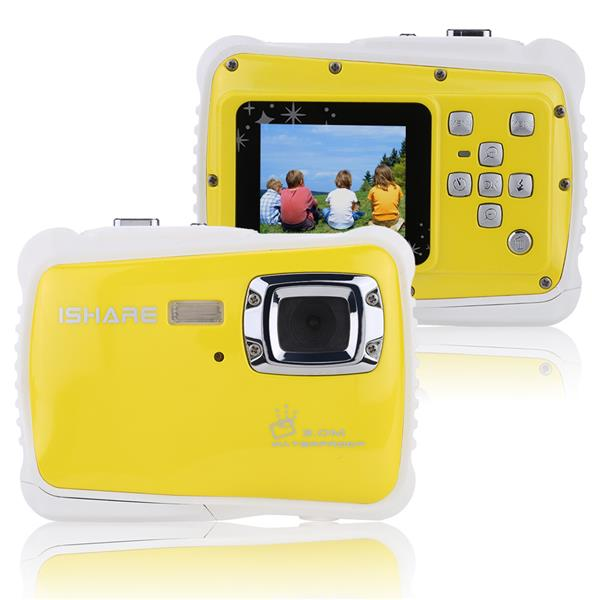 "Portable Handy 720P 30fps HD 5MP CMOS-Sensor Waterproof 3M 1.8"" LCD"
