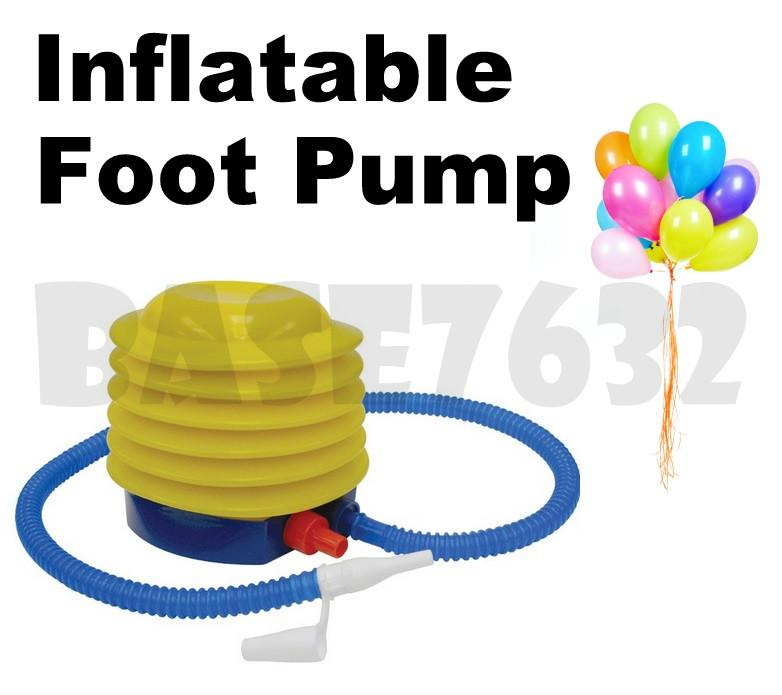 Portable Inflatable Manual Hand Foot Leg Air Pump Inflator