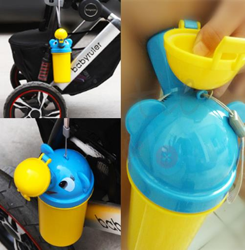 Portable kids Travel Urinal Potty Bottle- For Boy