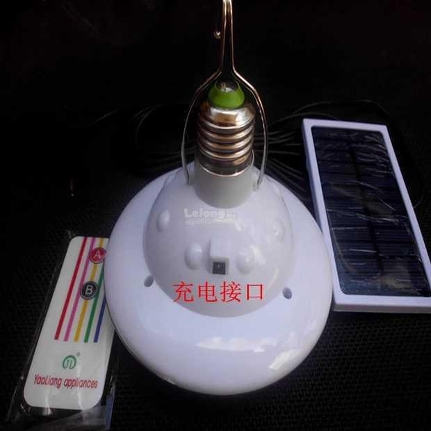 Portable led solar light bulb 24 le end 10252018 515 pm portable led solar light bulb 24 led remotecontrol outdoor solar pane aloadofball Choice Image