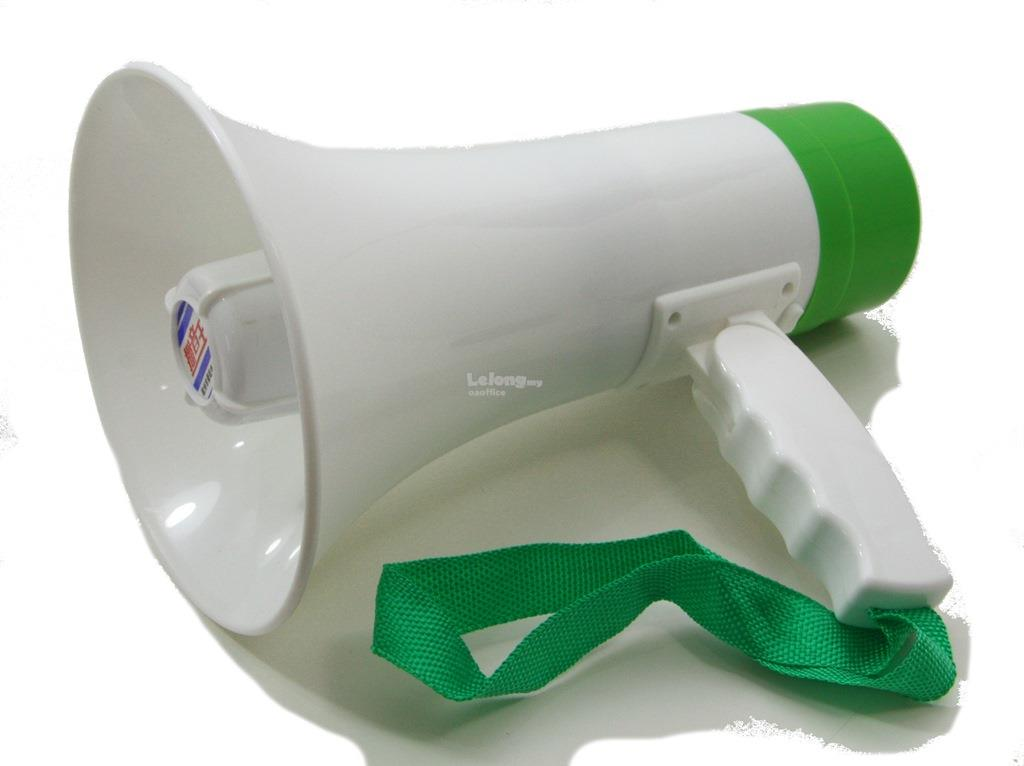 Portable Loud Speaker/ Megaphon Hailer Handheld Sound