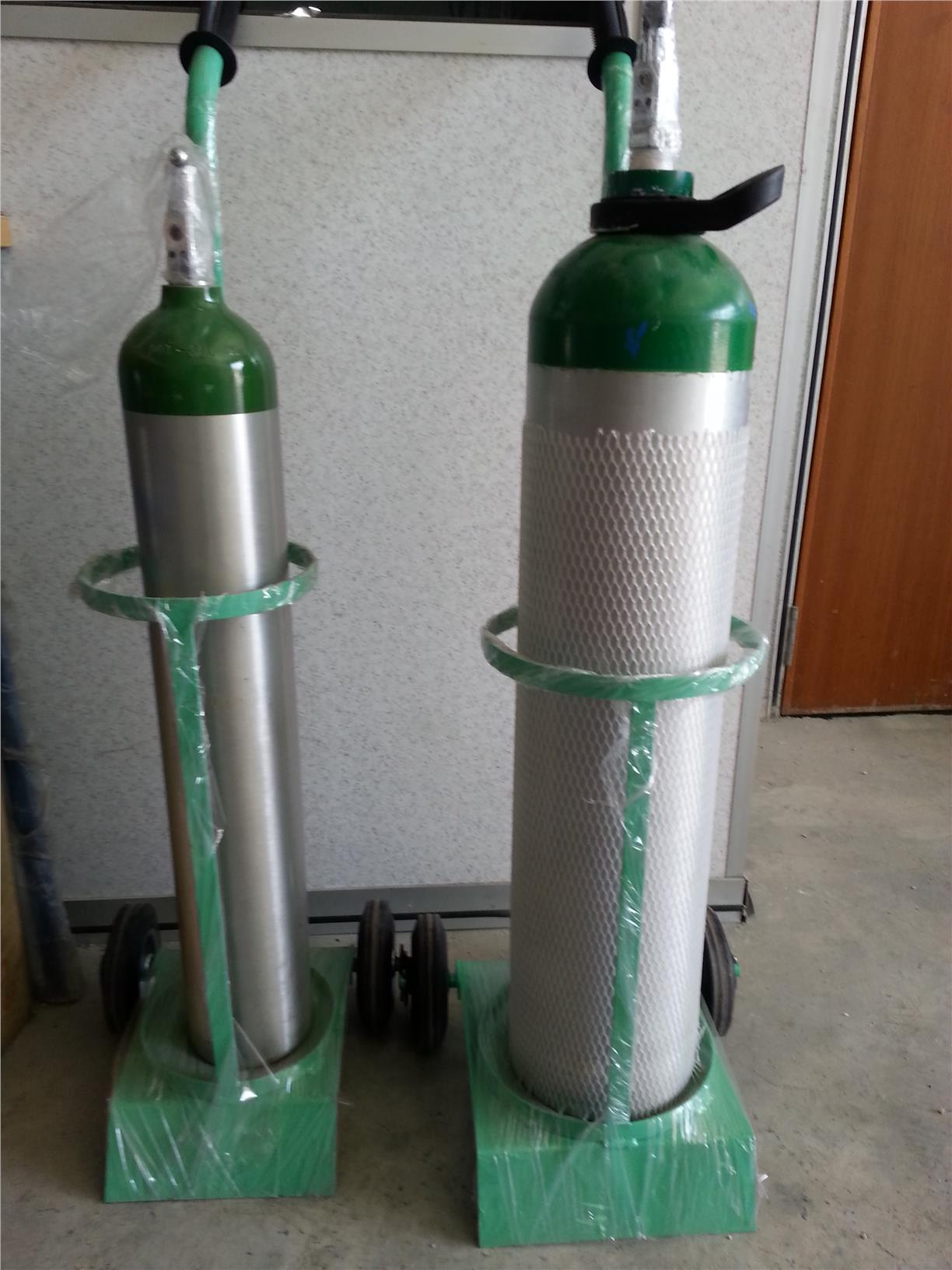 PORTABLE MEDICAL ALUMINIUM OXYGEN 1.4 m3