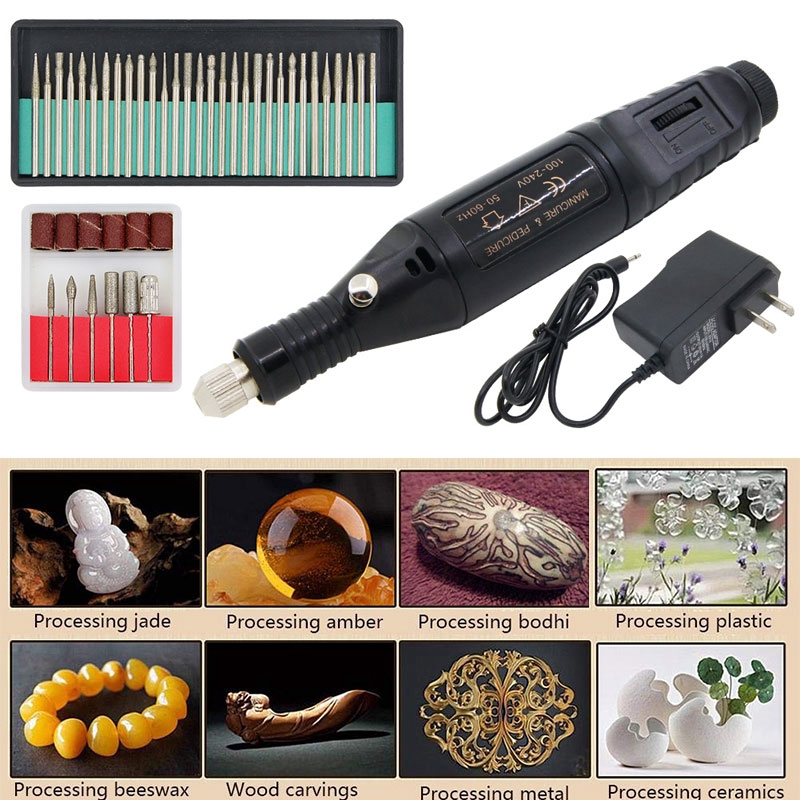 PORTABLE MINI Electric Grinder Engraving DIY Polishing Drill