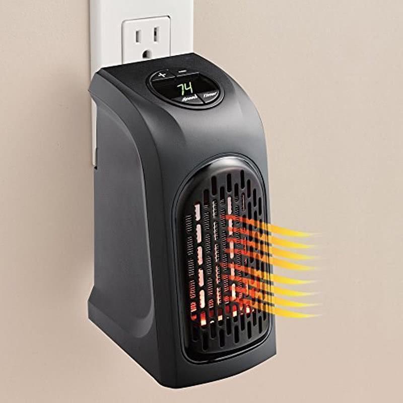 Portable Mini Electric Handy Air Heater Warm Fan Blower Room Fan. U2039 U203a
