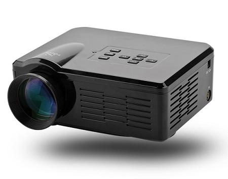 Portable Mini LED Projector (PJ-04C).