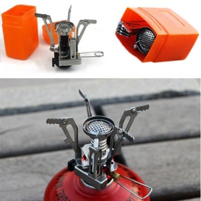 Portable Mini Steel Gas Burner Stove for Outdoor Picnic Camping