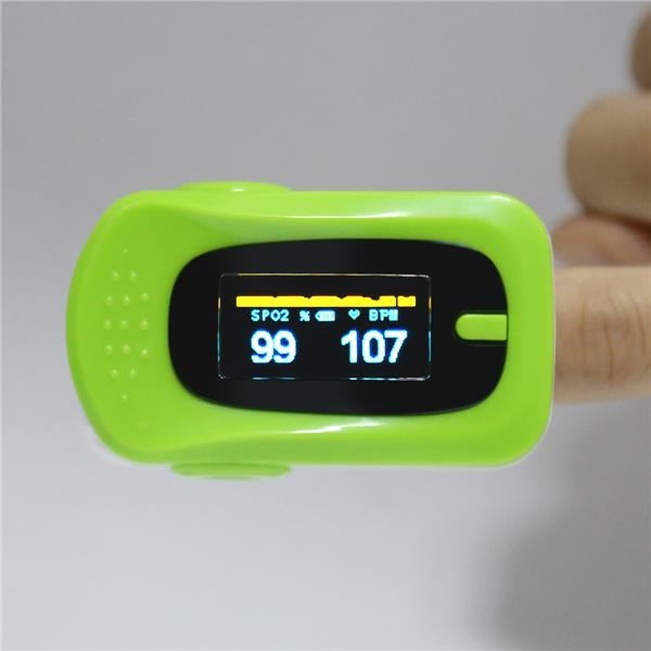 Portable OLED Fingertip Pulse Oximeter Blood Oxygen SpO2 Saturation