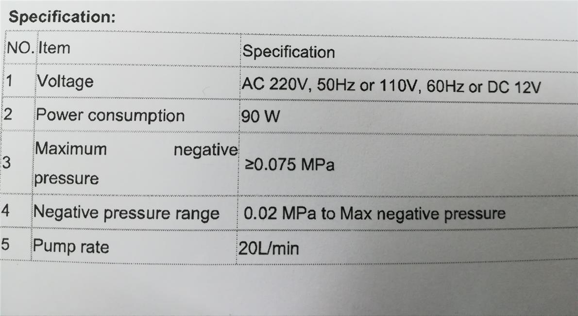 Portable Phlegm Suction Unit 9E-A