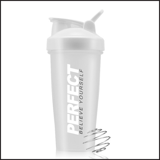 Portable Plastic Cup Sports Fitness Shake Cup
