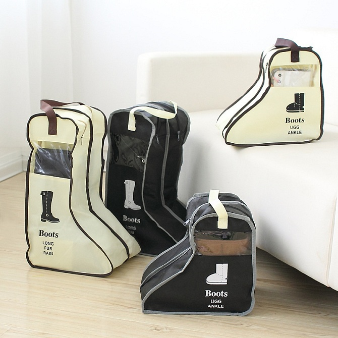 Portable Shoe Storage Bags Hanging Closet Cabin Shoe Cover Boot Organizer Smal & Portable Shoe Storage Bags Hanging (end 12/30/2020 12:00 AM)