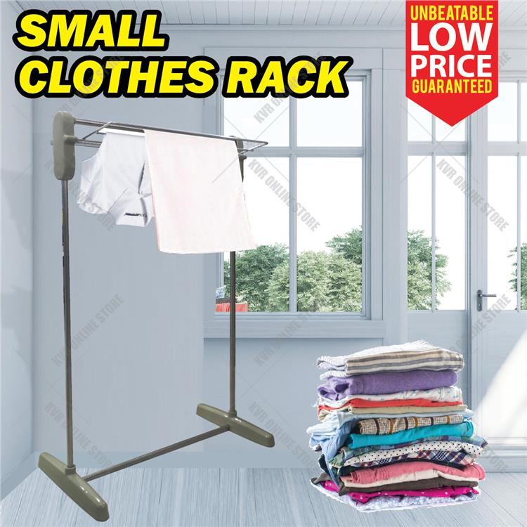 Portable Small Multifunctional Stand Clothes Drying Rack Space Saving