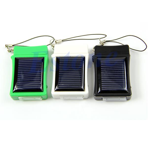 Portable Solar Power Emergency Battery Charger For iPhone 4S (Free Pos