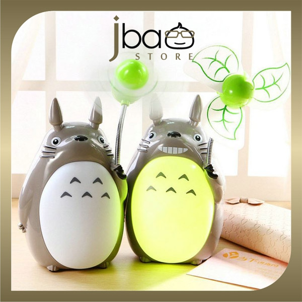Portable Totoro Fan + LED Night Lig (end 5/22/2019 11:20 AM)