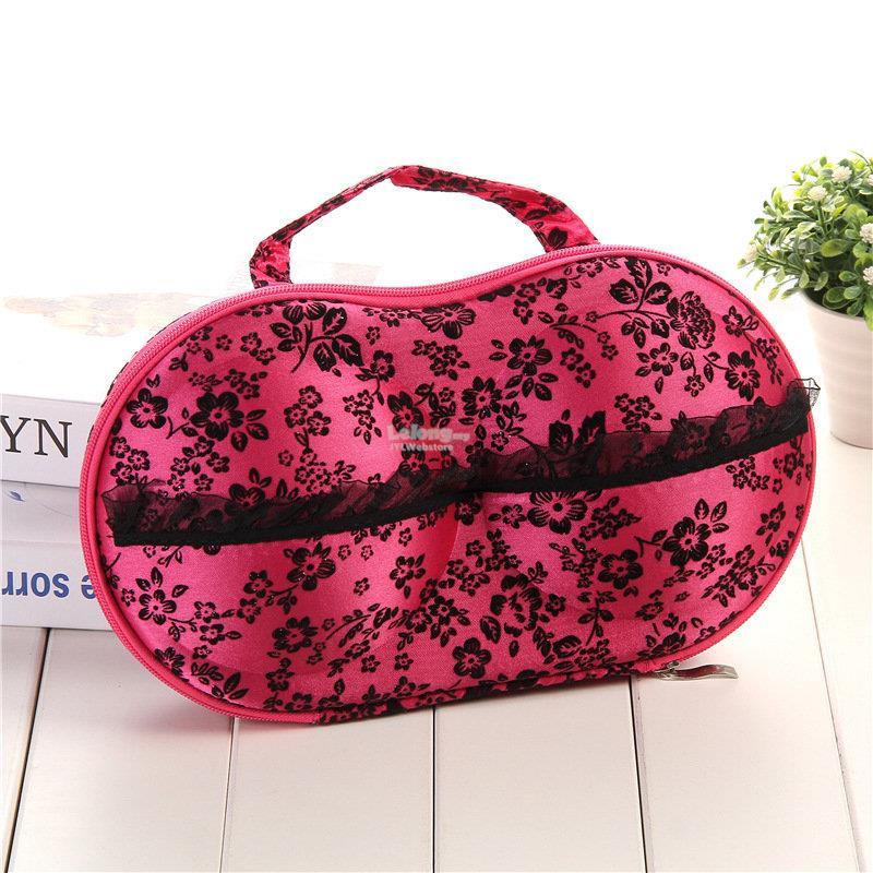 Portable Travel Underwear Bra Storage Bag Storage Box