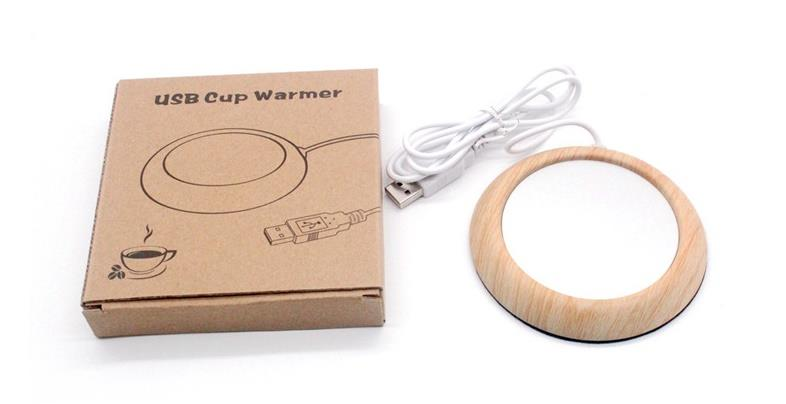 NEW! Portable USB Cup Warmer Electric Mug Cup Heater