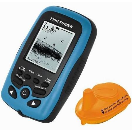 Portable Wireless Remote Sonar Fish Finder (WP-FF01).