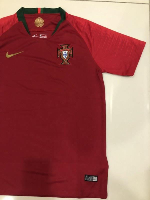 Portugal Home Jersey World Cup 2018