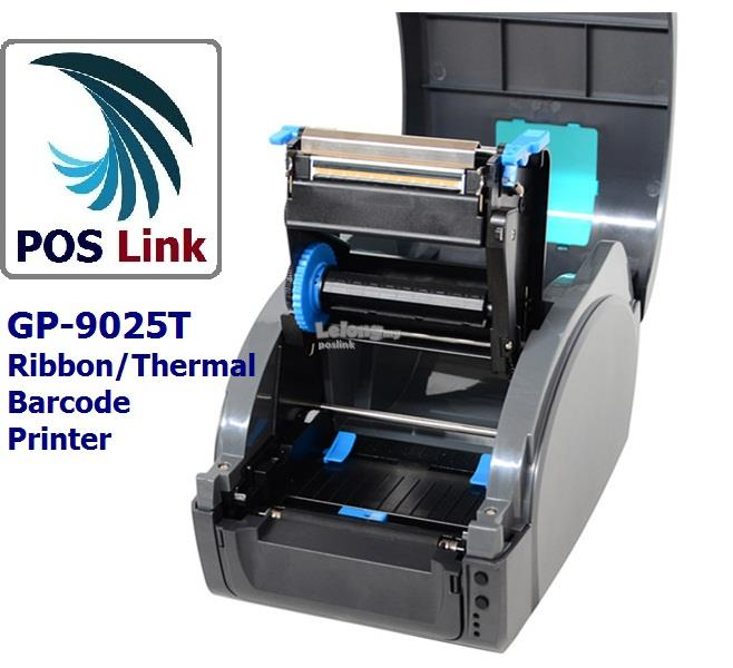 POS System GP-9025T Industrial Label Printer   90mm Ribbon / Thermal