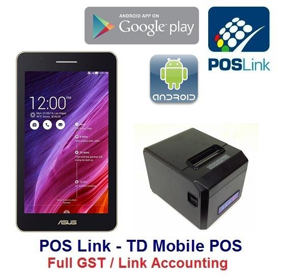 POS System - TD Mobile POS-Full GST VAN Sales Tax Invoice / Acc