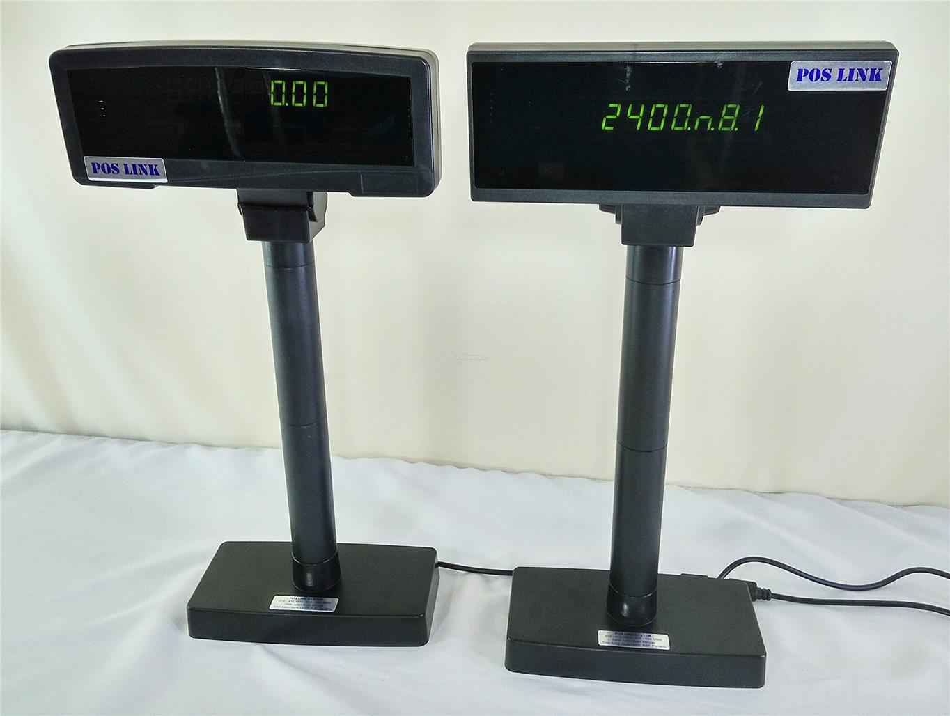 POS SYSTEM VFN 8 DIGITAL CUSTOMER POLE DISPLAY-USB/COM PORT