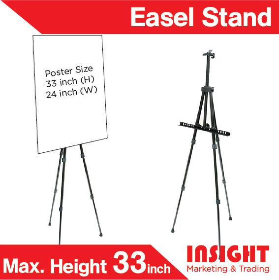 Marketing Exhibition Stand Zones : Poster stand manu easel stan end am