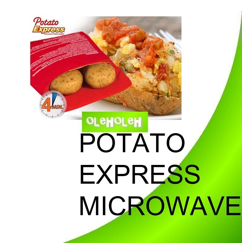 Potato Express Microwave Potato Cooker Just in 4 minutes