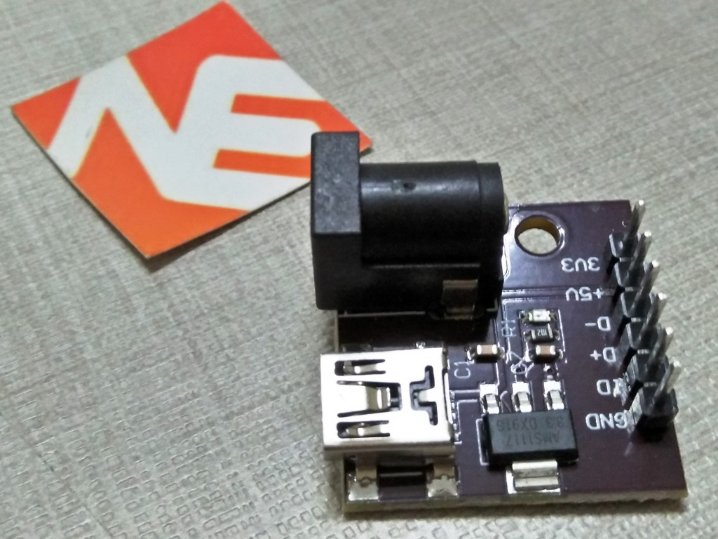 Power Breakout Board CJMCU DC Socket 5V To 3.3V Mini USB Connector