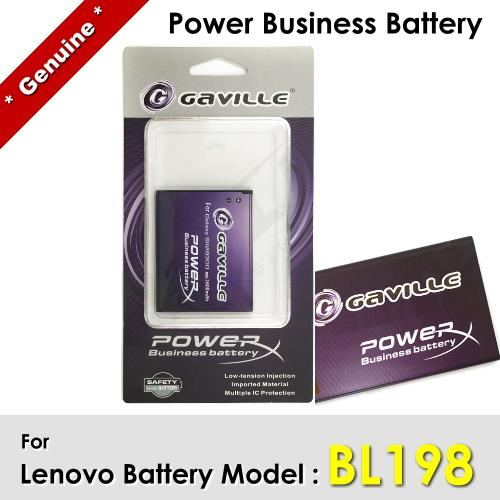 Power Business Battery BL198 BL-198 Lenovo A830 A850 Battery 1Y WRT
